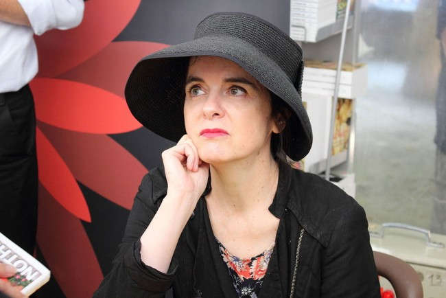 Amélie Nothomb in 2015 © ActuaLitté/WikiCommons