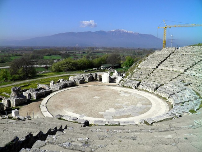 Ancient Theatre, Philippi | © Carole Raddato/WikiCommons