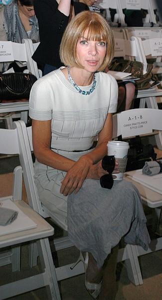 Anna Wintour © Ed Kavishe, Fashion Wire Press