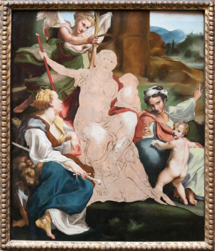 Antonio Allegri (Correggio), An Allegory Of Virtue, 1520's   Courtesy Of Tori Chalmers