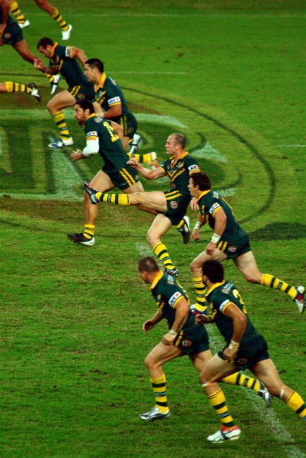 Australian National Rugby League team 2009   © Andrew Tallon / WikiCommons