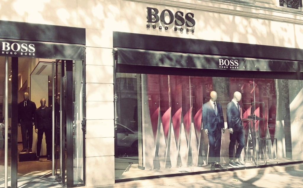 BOSS store Saint-Germain │ Courtesy of Paul McQueen