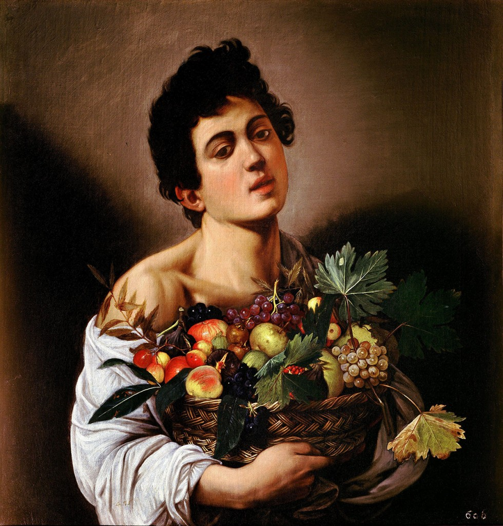 Boy with a Basket of Fruit by Caravaggio | © WikiCommons