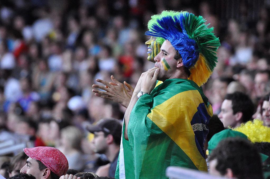 Brazilian Fan © Marco Verch/WikiCommons