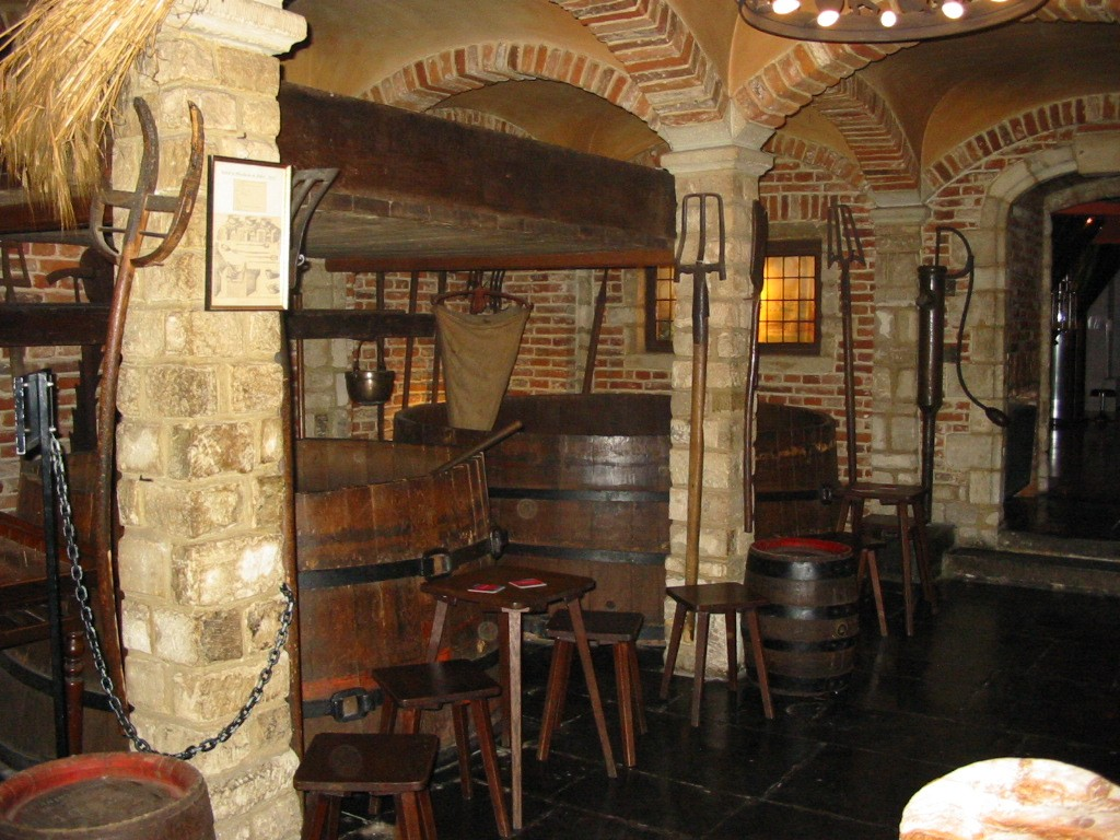 Going down into the Brewer's Museum means traveling back in time to discover how Belgian beer was made centuries ago | Courtesy of Belgian Brewers