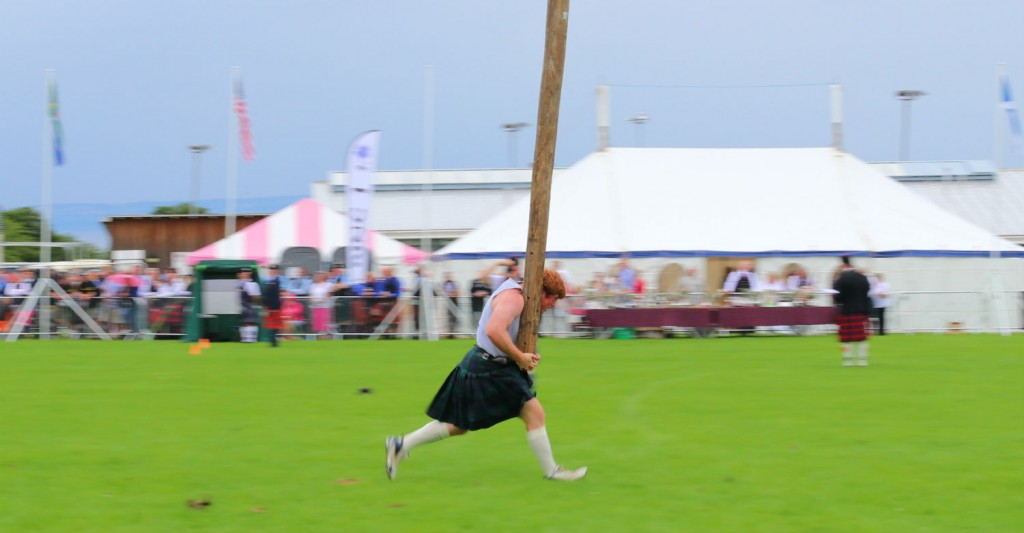 A Look At The Caber Toss In Scotland