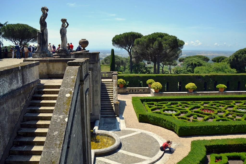 Barberini Gardens in Castel Gandolfo   © Livia Hengel
