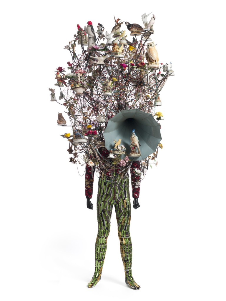 © Nick Cave. Soundsuit, 2015. Mixed media, including vintage toys and globes, wire, fabric, rug, metal and mannequin. Courtesy of the artist and Jack Shainman Gallery, New York. Photos: James Prinz.