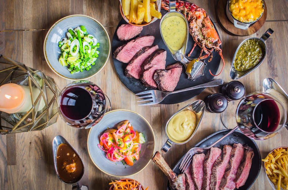 Prepare to enter into a meat lover's Eden as you step into a whole new land of incredible culinary possibilities © Courtesy of Chop House Leith