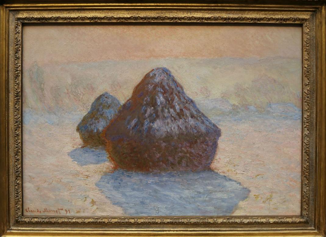 Claude Monet, Haystacks (Snow), 1891   Courtesy Of Tori Chalmers
