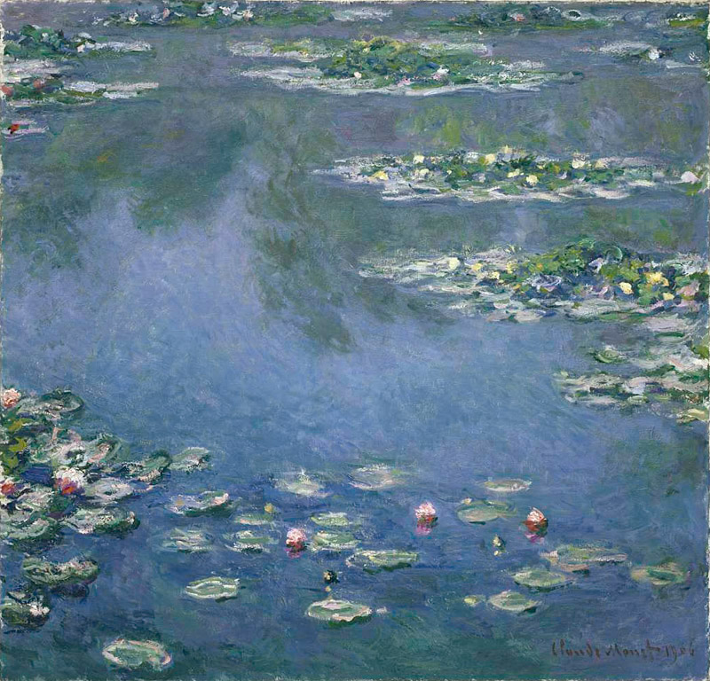 Water Lilies | © Art Institute of Chicago/WikiCommons