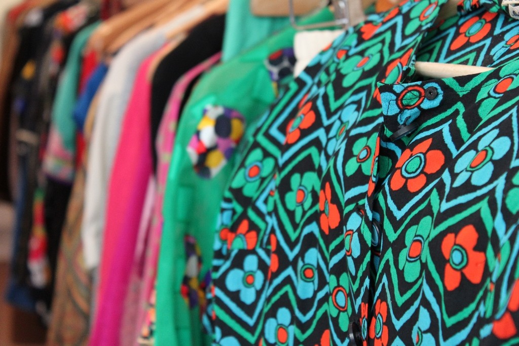 Colorful rails at Rose Market Vintage │ Courtesy of Rose Market Vintage