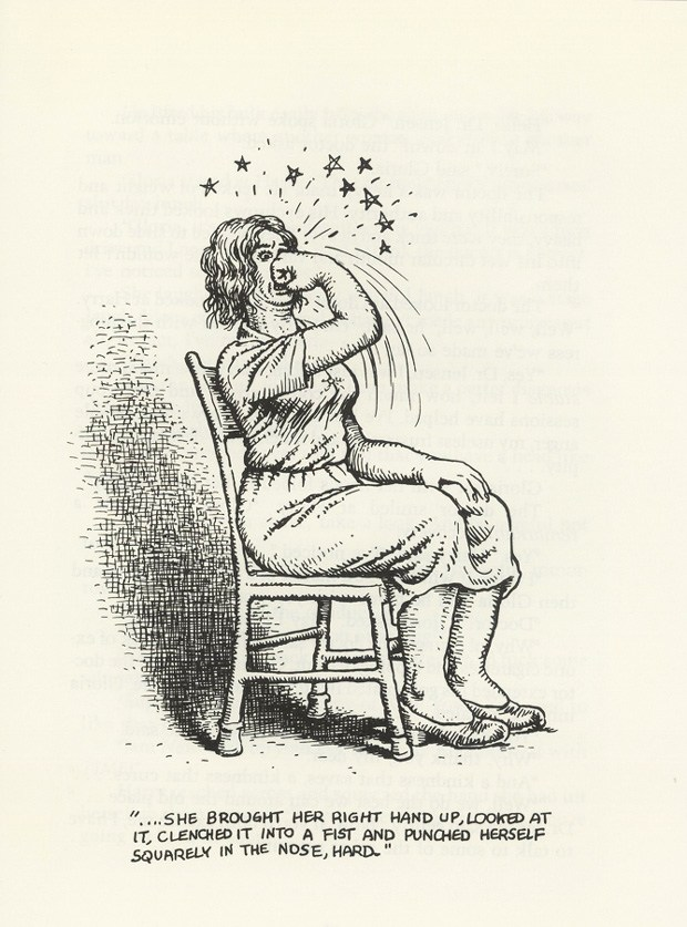 R. Crumb illustrated Bukowski's book Bring Me Your Love | © Black Sparrow Press
