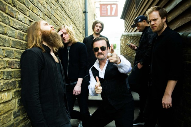 David Brent and friends 'band' together to form a rock group | Entertainment One