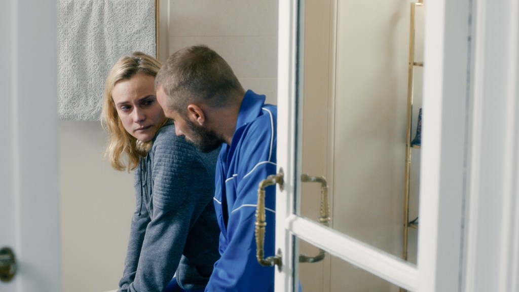 Diane Kruger and Matthias Schoenaerts in 'Disorder'. (© Sundance Selects)