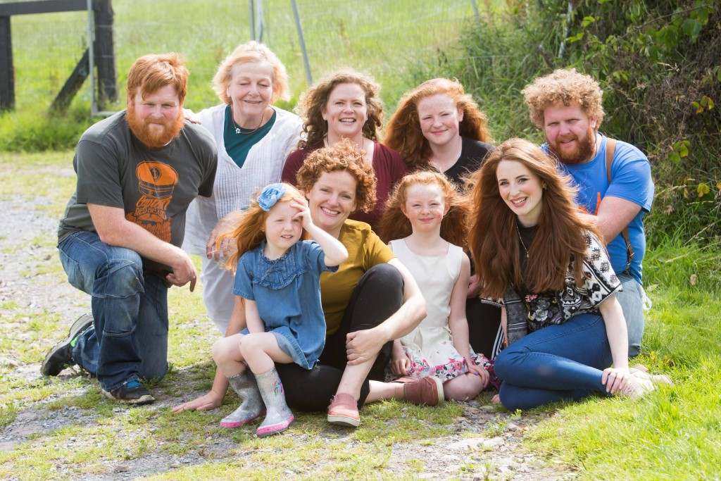 Hundreds of redheads near and far will flock to Crosshaven, Co. Cork for the Irish Redhead Convention | Joleen and Denis Cronin, founders of the Irish Redhead Convention from August 19th to 21st | ©Darragh KaneDarragh Kane