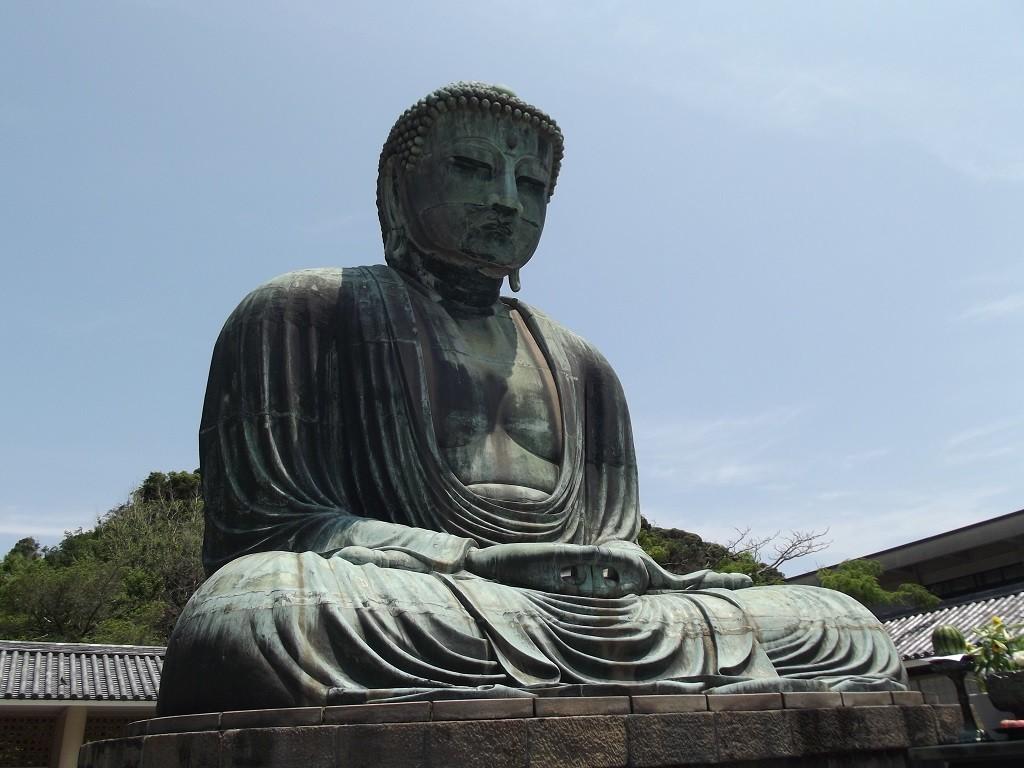 Daibutsu Giant Buddha at Kamakura   © Alicia Joy