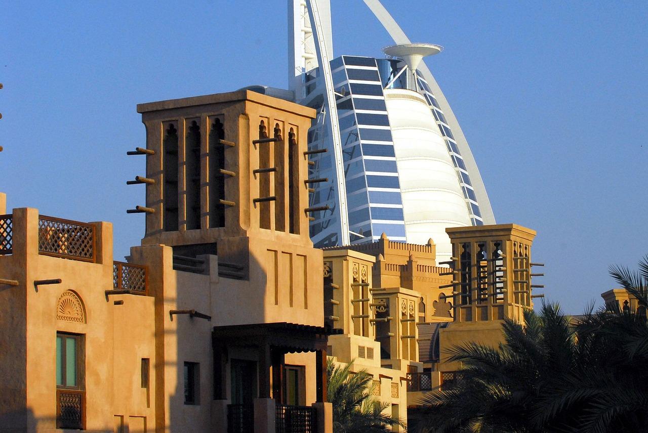 Burj Al Arab as seen from the Madinat Souq | © Pixabay