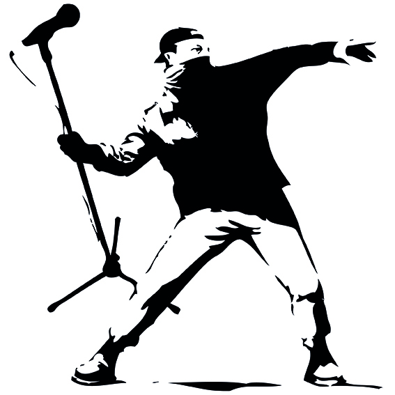 Subverted Banksy | Courtesy of Molland & Sullivan