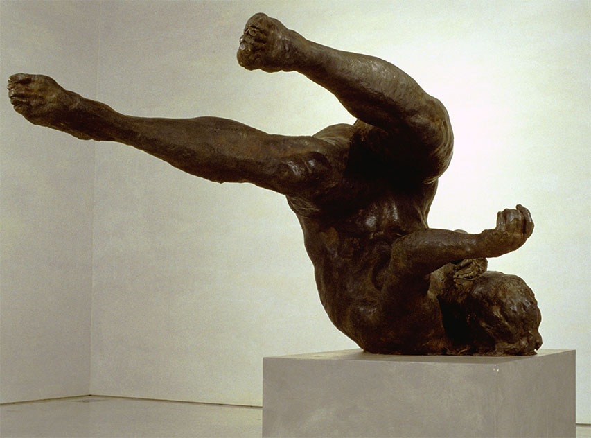 """""""Tumbling Woman"""" by Eric Fischl 