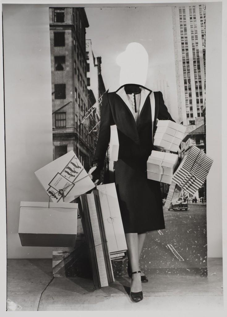 Erwin Blumenfeld, Fashion Montage, 1950, courtesy of Osborne Samuel Gallery