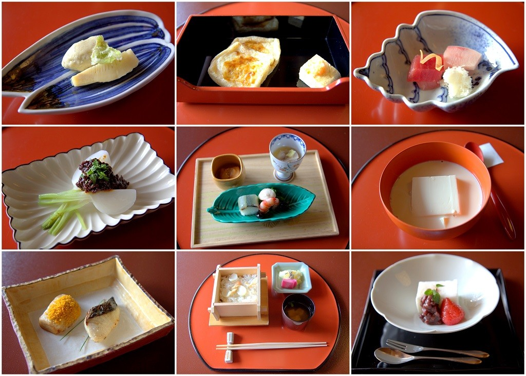 A selection of dishes from Tofuya Ukai | © Irene Ai Bryant/catastrophicfindings.wordpress.com
