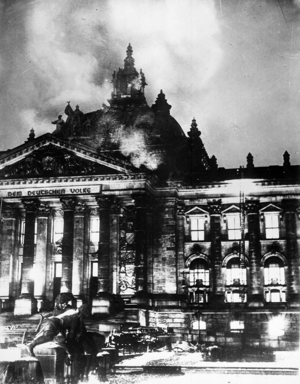 Reichstag fire   © DIREKTOR/WikiCommons