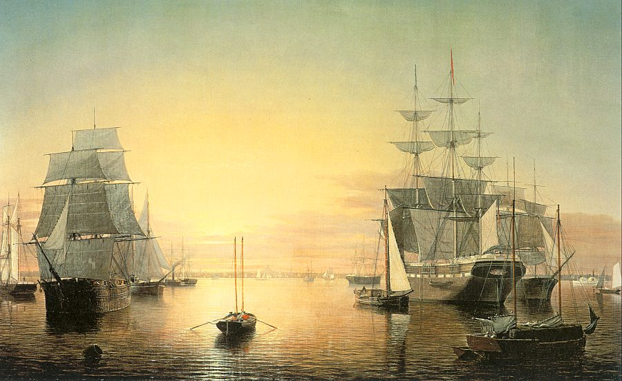 Boston Harbor ©MFA/Wikimedia