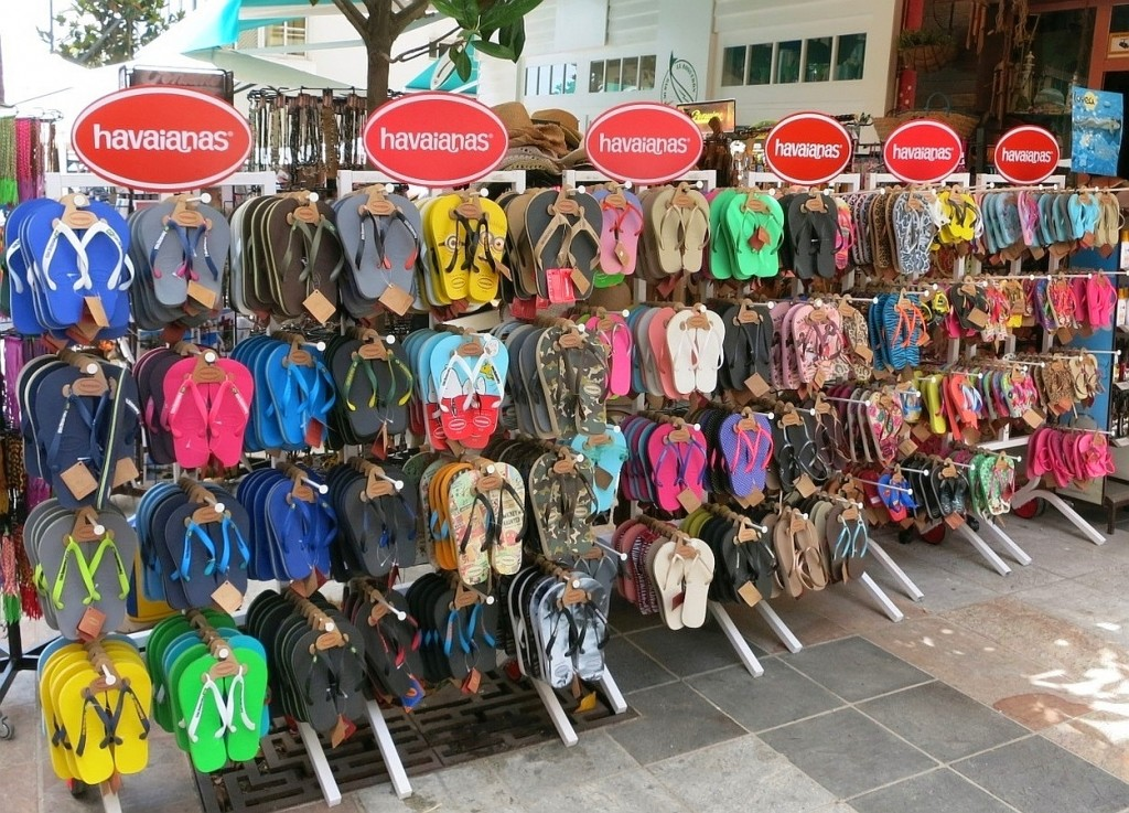 Choose your favourite: havaianas are here to stay