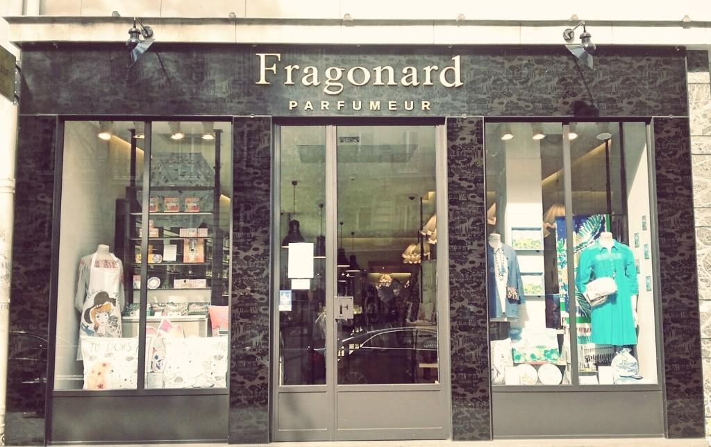 Fragonard store Saint-Germain │ Courtesy of Paul McQueen