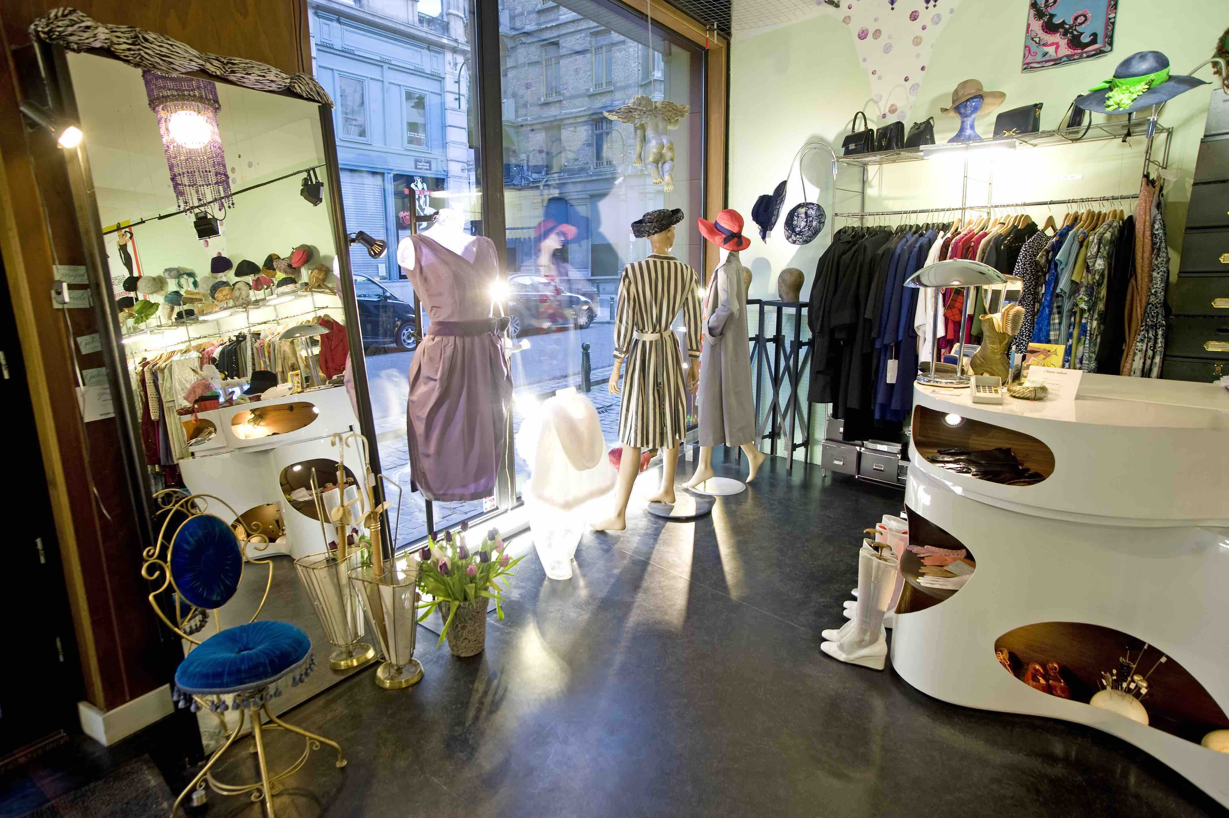 9 Of The Best Vintage Shops In Brussels