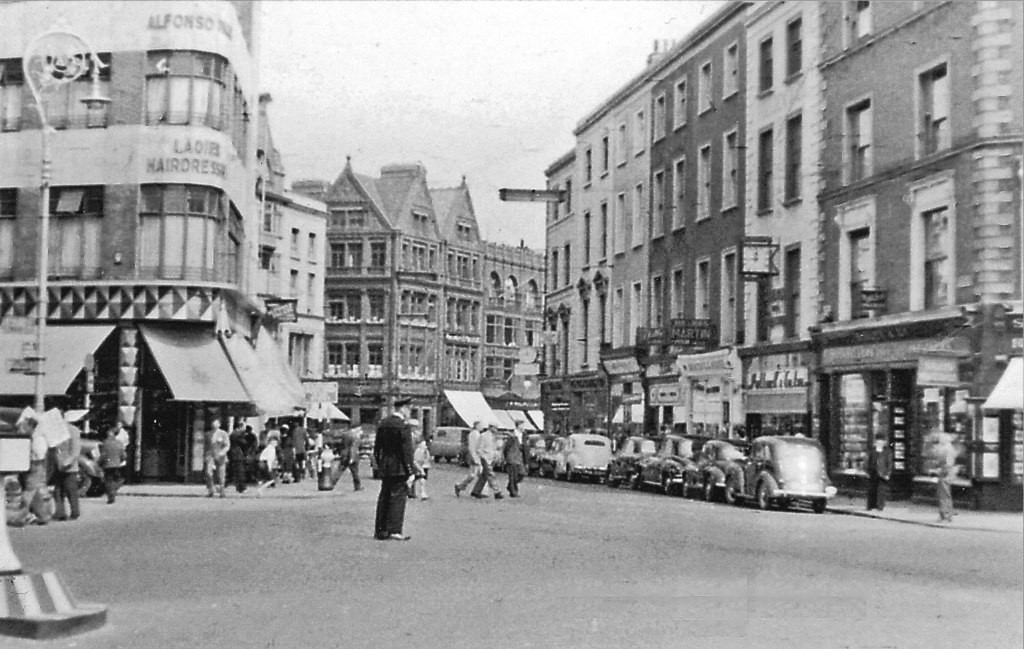 Grafton Street at St Stephen's Square, 1955 | ©Ben Brooksbank/Geograph
