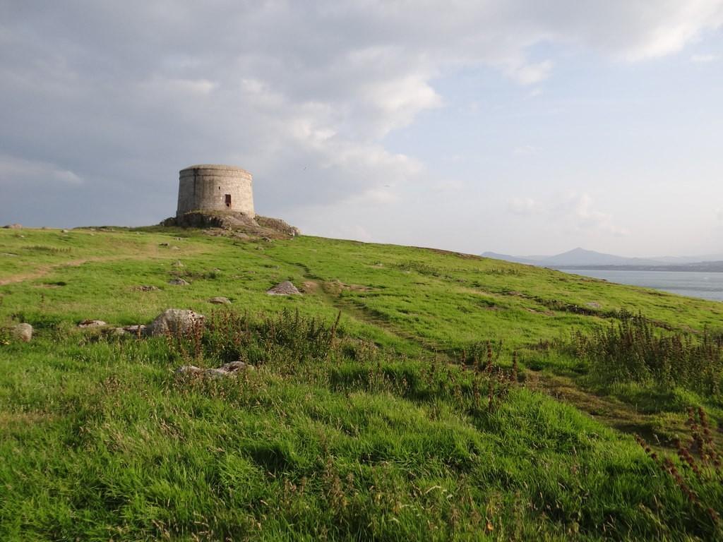 Martello tower on Dalkey Island | © Ian Paterson/Geograph