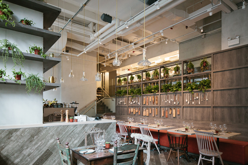 Top healthy restaurants in hong kong