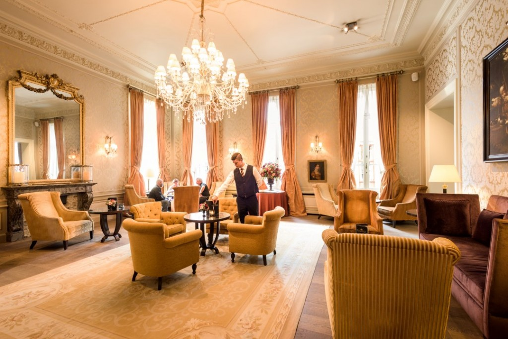 Its lounges give a good sense of the grandeur the Grand Hotel Casselbergh now exudes | Courtesy of Grand Hotel Casselbergh