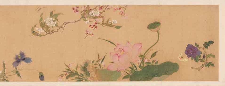 Handscroll from the Chinese Qing dynasty | Courtesy of Chester Beatty Library, Dublin