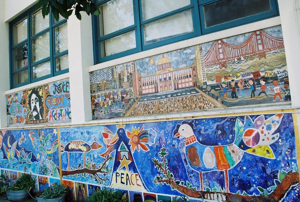 Harvey Milk Civil Rights Academy © k_tjaaa/Wikipedia