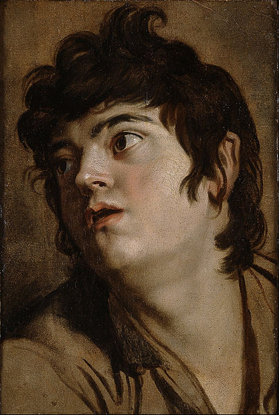 Head of a Young Man © Public Domain/wikicommons