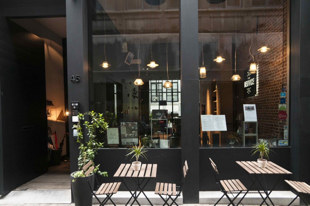 Hotel Neuvice thanks its name to its location on Liege's oldest and coziest of shopping alleys, En Neuvice | Courtesy of Hotel Neuvice