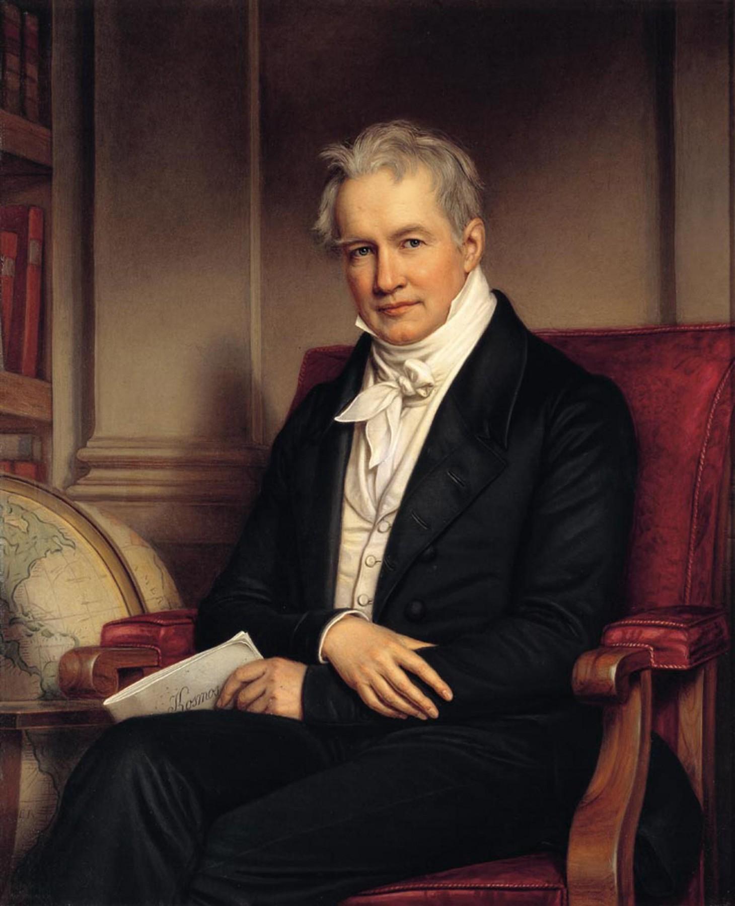Alexander von Humboldt (1843)/ wikkicomms