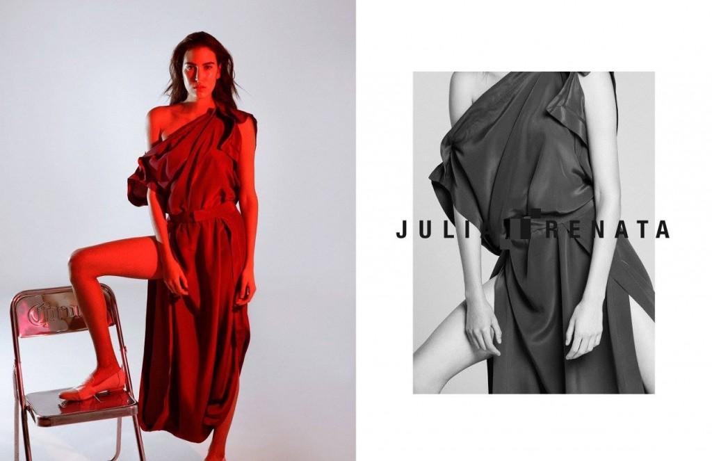 Not Models' Renata Blanco (Styling by Pablo Villalpando, makeup by Claudia Gamiño, hair by Charly Cabrales) | © Ricardo Ramos | Courtesy of Julia y Renata