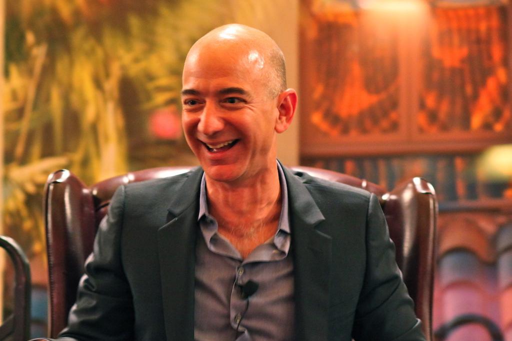Amazon founder and CEO Jeff Bezos   © Steve Jurvetson/WikiCommons