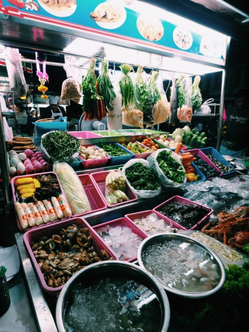 Seafood stall | Courtesy of Kelsey Madison