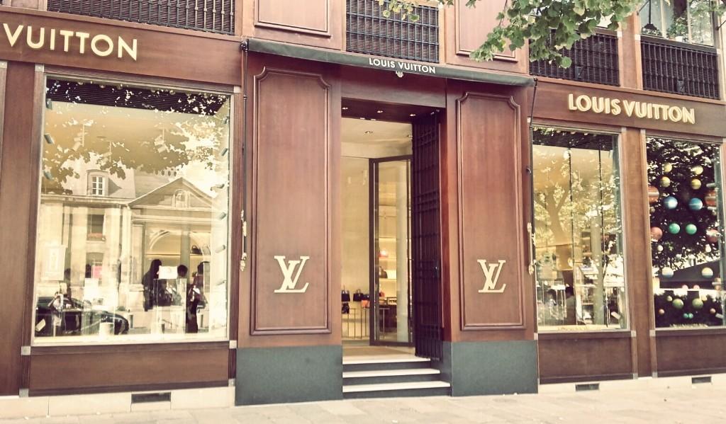 Louis Vuitton store Saint-Germain │ Courtesy of Paul McQueen