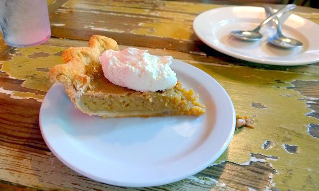 Sweet Tea Pie at Lucy's Fried Chicken | Courtesy of James F.