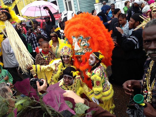 Mardi Gras Indians ⎮© Mike Connor/Flicker