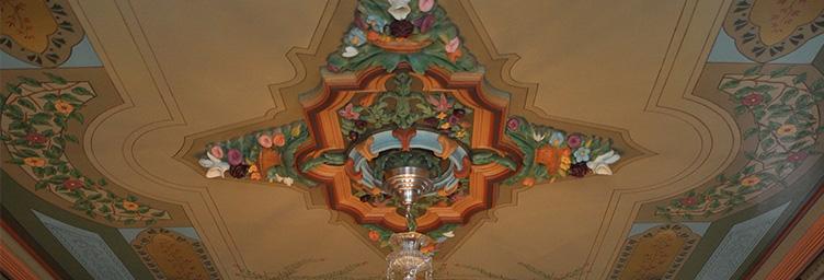 Medallion, Annandale House | © Annandale National Historic Site/Tillsonburg.ca