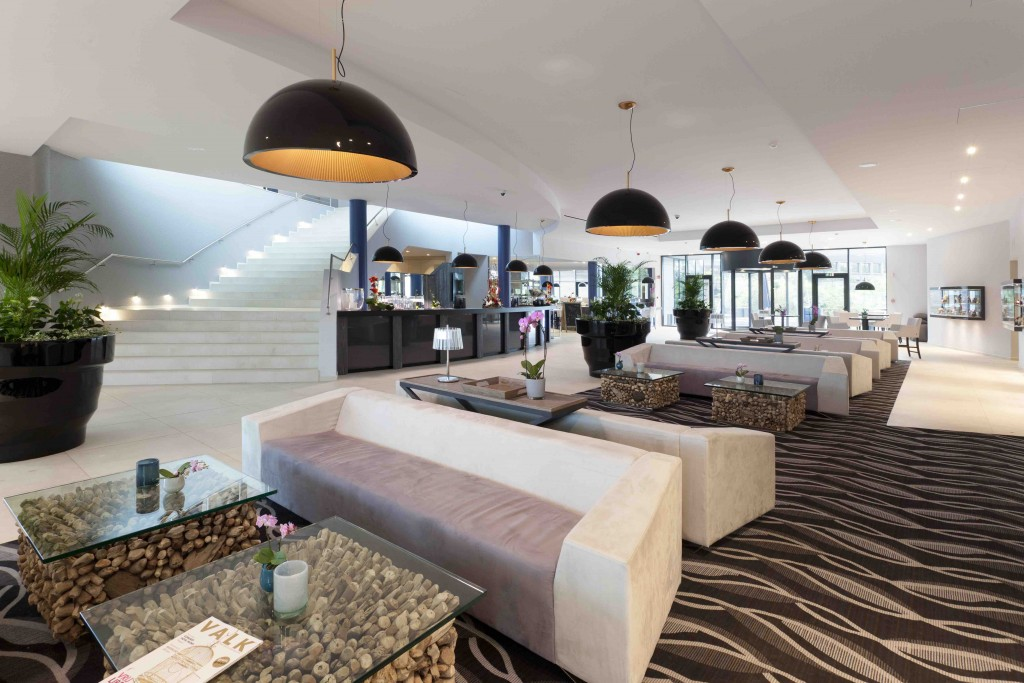 One of the biggest hotels in the tranquil Mons area, Hotel Van der Valk even boasts a sushi bar besides its restaurant | Courtesy of Congres Hotel Mons Van der Valk