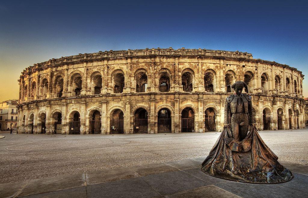 Nîmes © Wolfgang Staudt/WikiCommons