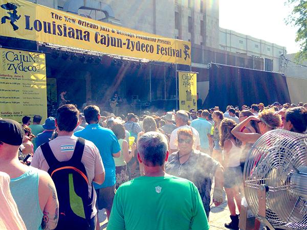 Louisiana Cajun-Zydeco Festival 2015, Audubon Park, New Orleans  © regan76/WikiCommons